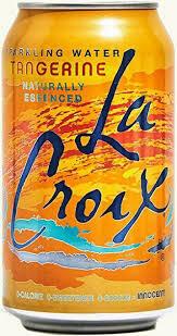 La Croix Sparkling Orange Flavor 12 Oz Cans 12 pack