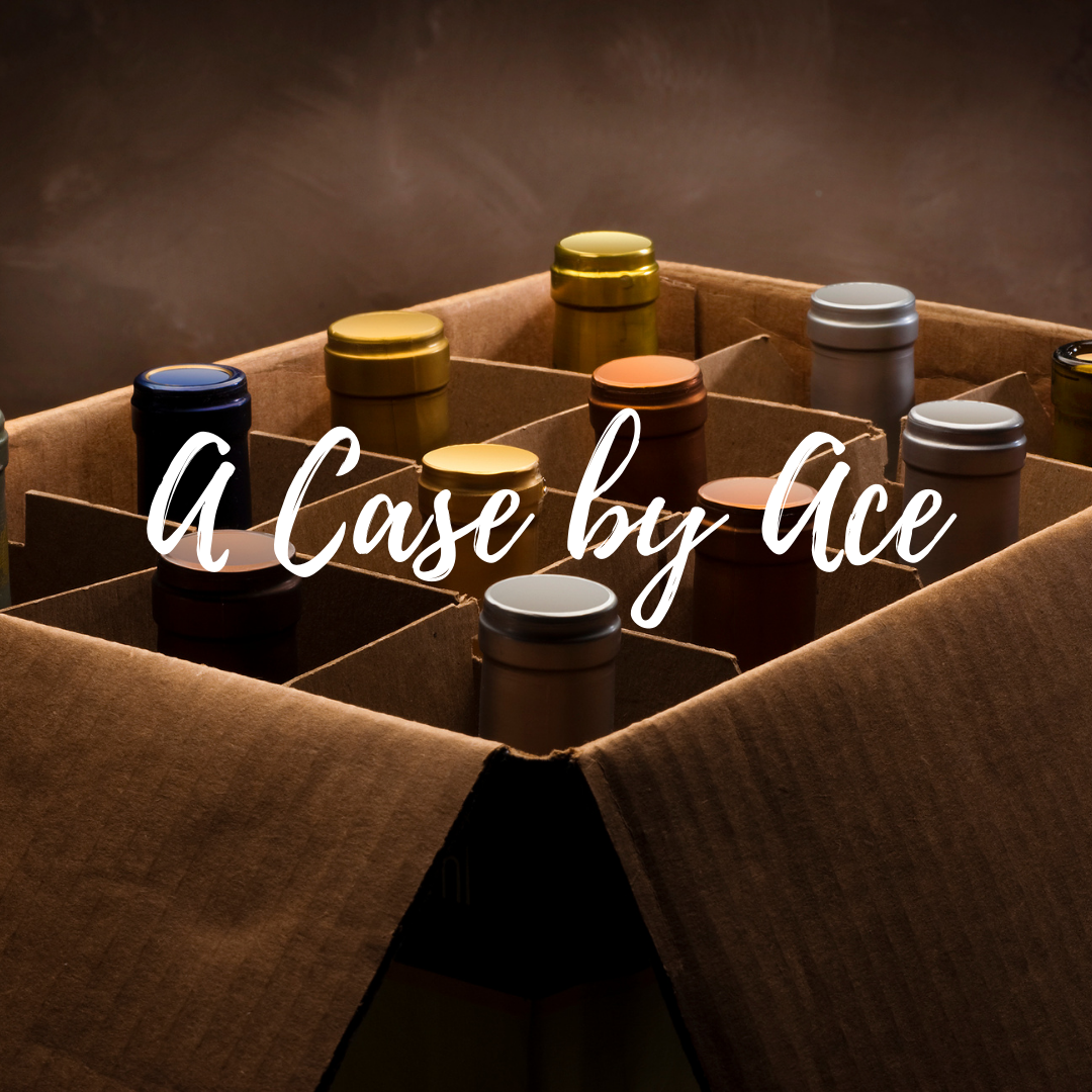 """""""A Case by Ace"""" selected by our wine buyers. Wines ranging from $12-$15 per bottle. Red/White/Rosé/Sparkling options available. *Curbside Pickup and DC Delivery Only*"""