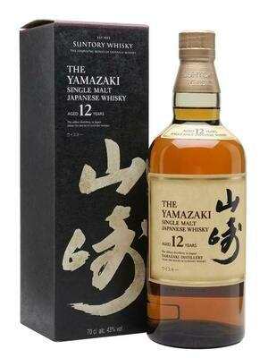 The Yamazaki 12 Year Japanese Single Malt Whisky