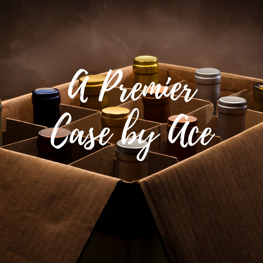 """A Premier Case by Ace"" selected by our wine buyers. Wines ranging from $35-$40 per bottle. Red/White/Rosé/Sparkling options available. *Curbside Pickup and DC Delivery Only*"