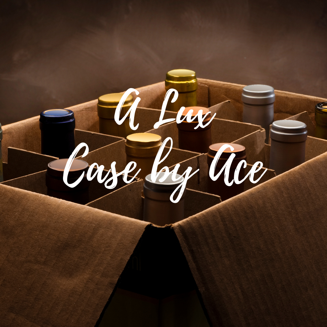 """""""A Lux Case by Ace"""" selected by our wine buyers. Wines ranging from $45-$50 per bottle. Red/White/Rosé/Sparkling options available. *Curbside Pickup and DC Delivery Only*"""