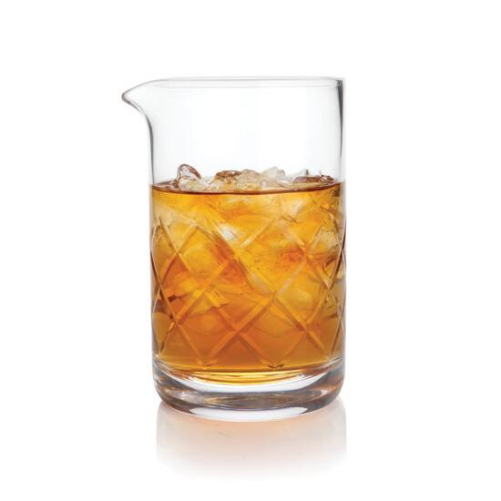 Viski Professional Lead Free Crystal Mixing Glass