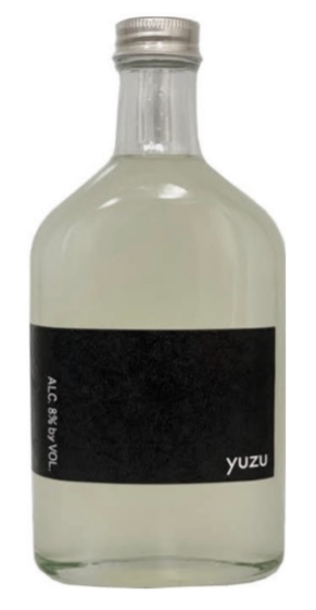 Shibata Black Yuzu Sake 200ml
