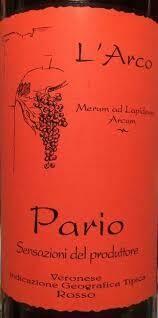 L'Arco Veronese IGT Rosso Pario 2008 ***SALE***