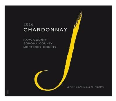 J Vineyards Chardonnay Monterey/Sonoma/Napa Counties 2018