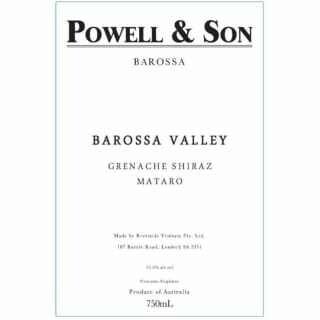 Powell and Son Barossa Valley Grenache Shiraz Mataro 2016