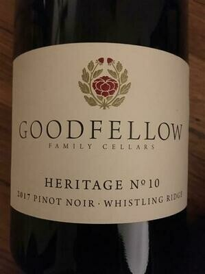 Goodfellow Pinot Noir Heritage No 10 2017