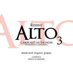 Alto3 Cabernet Sauvignon 2016
