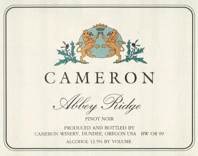 Cameron Pinot Noir Abbey Ridge Dundee Hills 2017