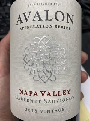 Avalon Cabernet Sauvignon Napa Valley 2018
