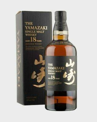 Suntory Yamazaki 18 Year Single Malt Japanese Whisky
