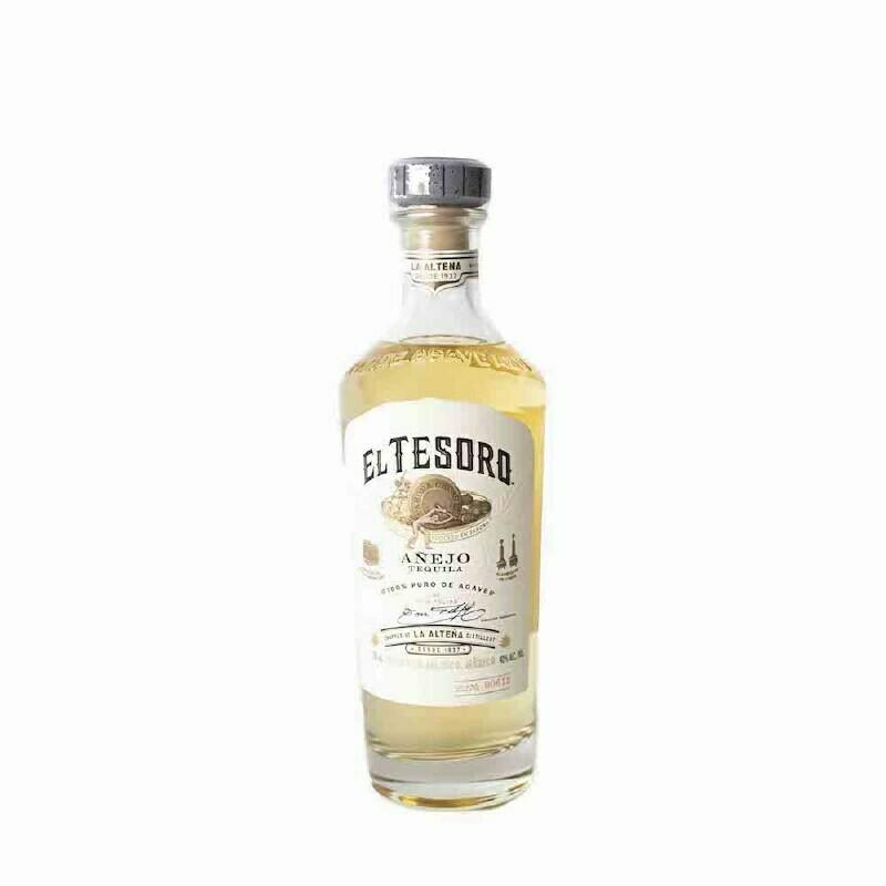 El Tesoro Añejo Tequila - 750ml