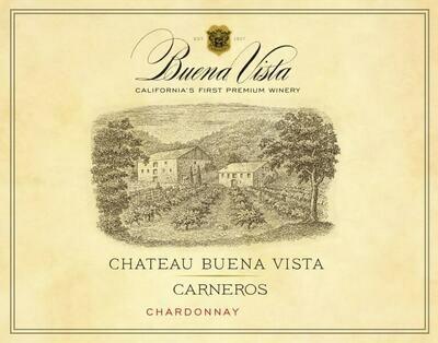Buena Vista Chardonnay Chateau Buena Vista Carneros 2019