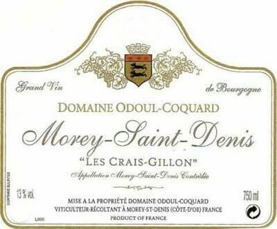 Odoul Coquard Morey-Saint-Denis Les Crais Gillon 2014