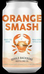 Devil's Backbone Orange Smash 4-pack cans