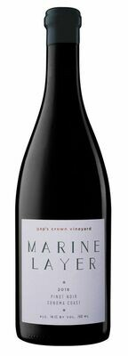 Marine Layer Pinot Noir Gap's Crown Vineyard Sonoma Coast 2018