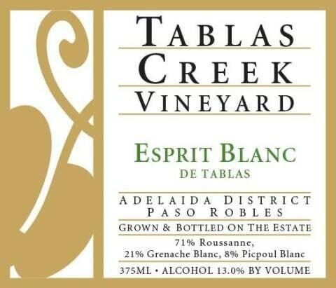 Tablas Creek Esprit de Tablas Blanc 2016
