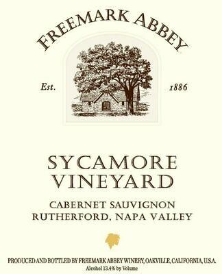 Freemark Abbey Cabernet Sauvignon Sycamore Vineyard 2004 (Library Release)