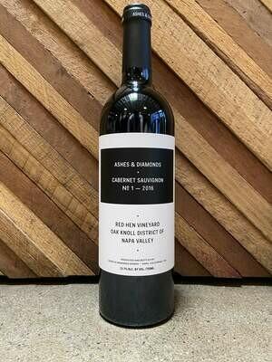 Ashes & Diamonds Cabernet Sauvignon Red Hen Vineyard Napa Valley 2016