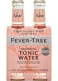 Fever Tree Aromatic Tonic Water 4-pack 200ml