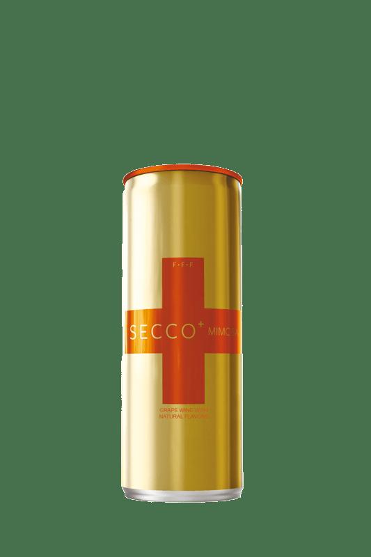 Secco Mimosa Bubbles 250ml Can