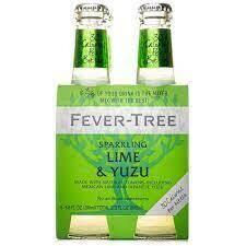Fever Tree Sparkling Lime & Yuzu 4-pack