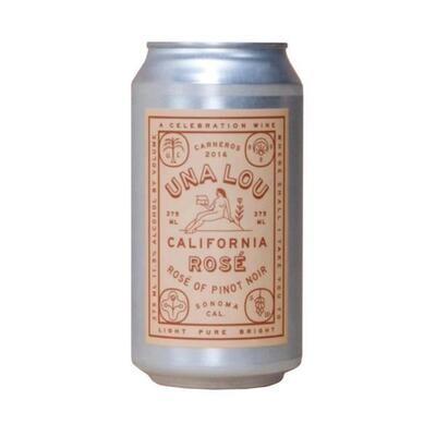 Scribe Winery Una Lou Rose 2020 375ml CAN
