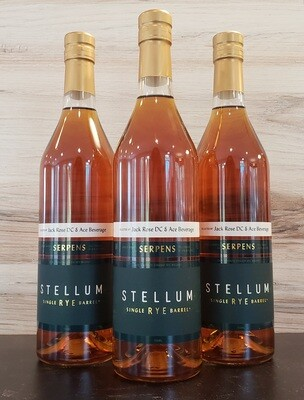 Stellum Cask Strength Straight Rye Single Barrel 115.2 proof (Selected by Jack Rose & Ace Beverage)
