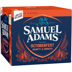 Sam Adams Oktoberfest Case of 24 x 12 oz btls