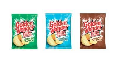 Golden Wonder Crisps Mixed Box 32 x 32.5g