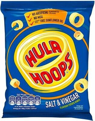 KP Hula Hoops Salt & Vinegar - 32x34g