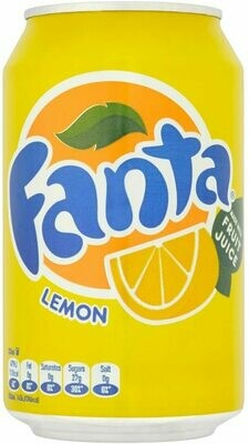 Fanta Lemon 330ml (Pack of 24)
