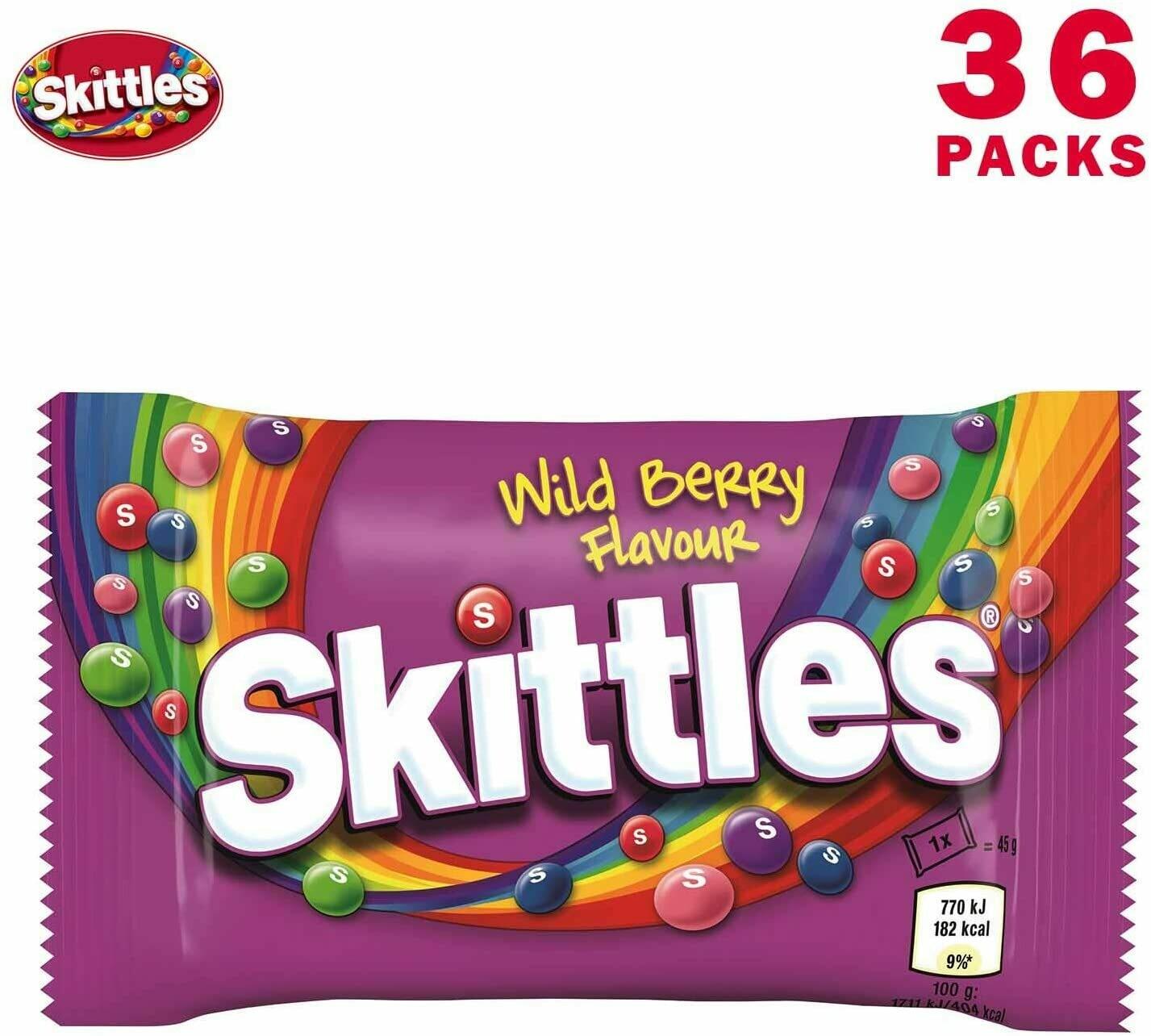 Skittles Wild Berry 45g (36 Pack)