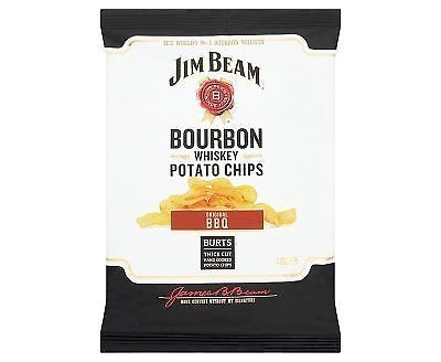 Burts Jim Beam Original Bbq Crisps - 20 x 40g Box
