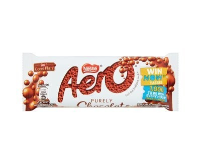 AERO Milk Chocolate Bar 36g X 24
