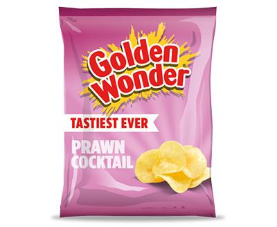 Golden Wonder Crisps Prawn Cocktail 32 x 32.5g