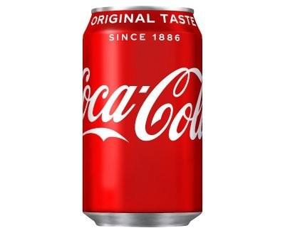 Coca Cola Original 330ml Cans x 24