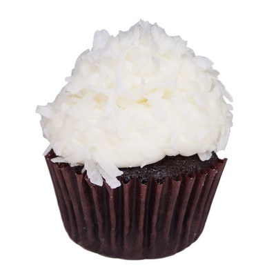 Chocolate Coconut Cupcake