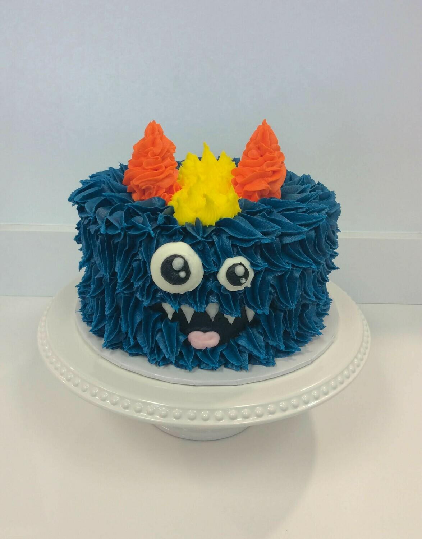 Two Eye Monster Cake