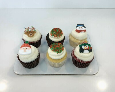 Assorted Christmas 6 Pack