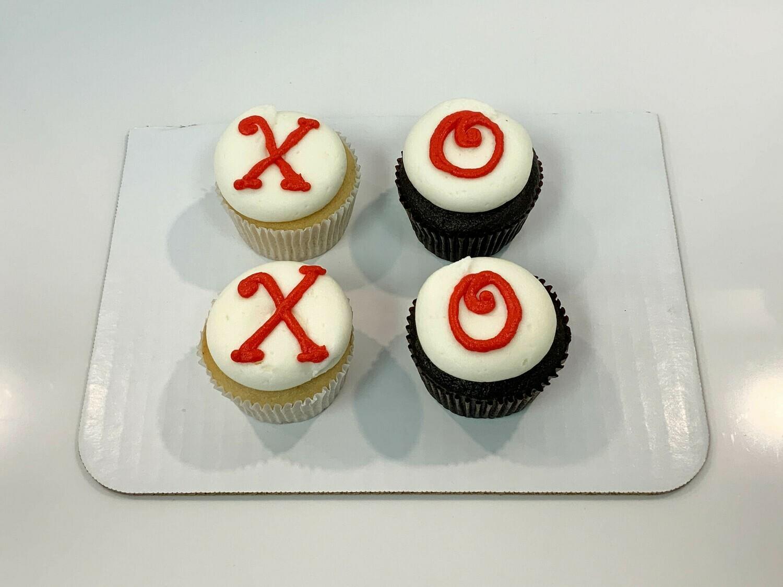 Xoxo 4 Pack Cupcakes