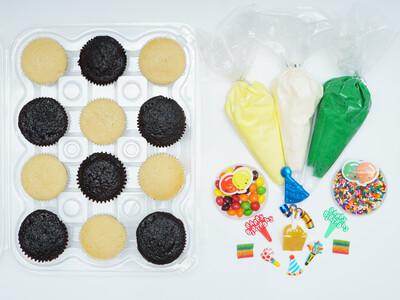 Birthday DIY Cupcake Decorating Kit