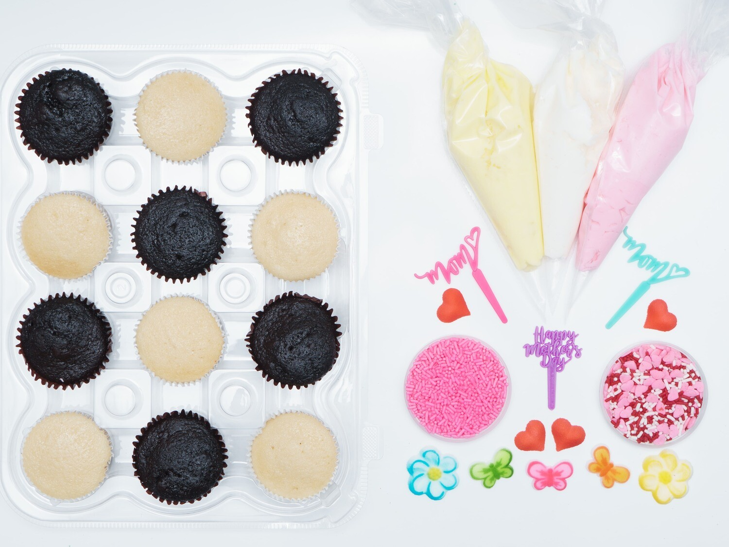 Mother's Day DIY Cupcake Decorating Kit