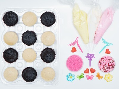 Mother's Day DIY Cupcake Decorating Kit