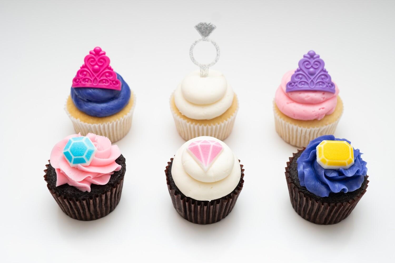 Princess Theme Cupcakes