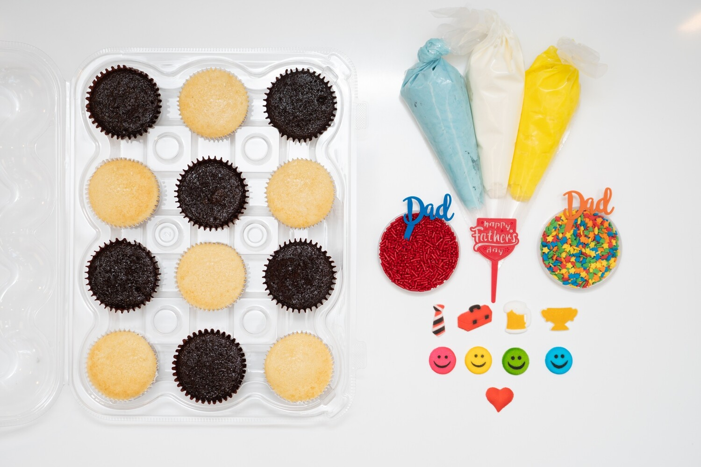 Father's Day DIY Cupcake Decorating Kit