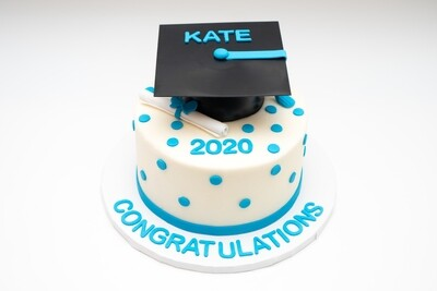Graduation Dot Cake