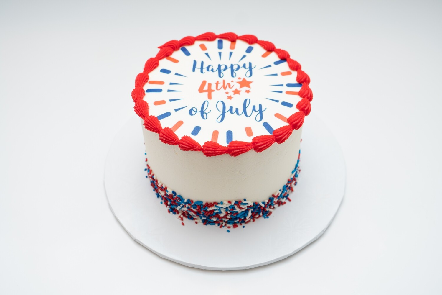 Happy 4th of July Image Cake