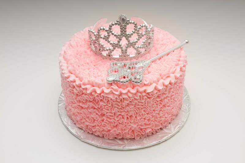 Crown & Scepter Cake