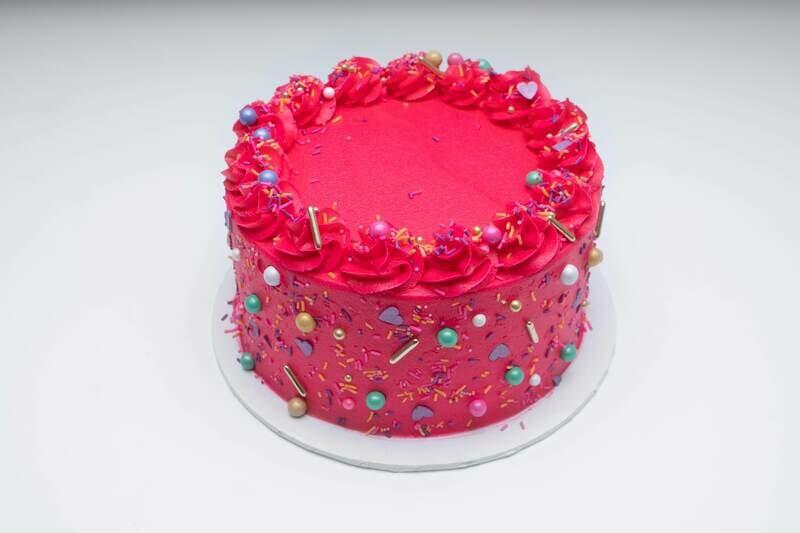 Fancy Sprinkles Cake